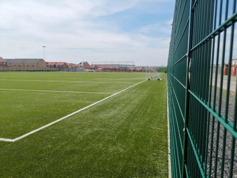 Full Size 3G rugby pitch with football nets (11-a-side)